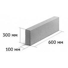 Евроблок для перегородок (100мм) - цена за поддон 1.3 м.куб