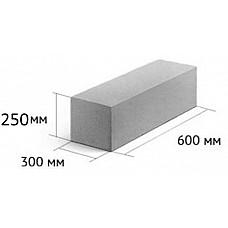 Блоки ПГС 600-300-250 - цена за поддон 1.44 м3