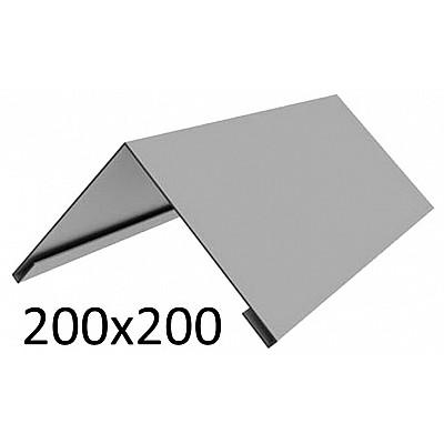 Купить в Гомеле Конек оцинкованный 200х200