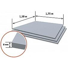 Шифер плоский 8мм РБ