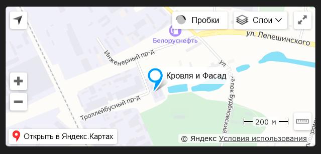 Карта проезда киф.бел